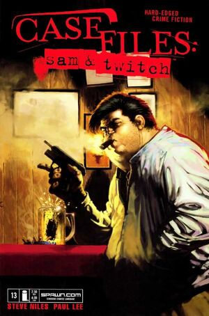 Cover for Case Files: Sam and Twitch #13 (2005)