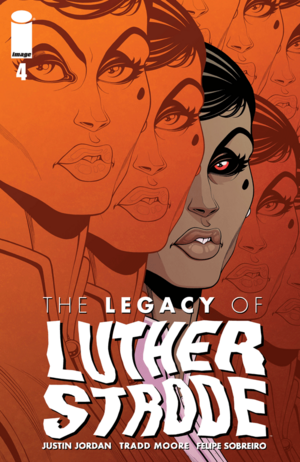 Cover for The Legacy of Luther Strode #4 (2016)
