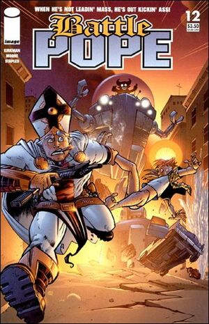 Cover for Battle Pope #12 (2006)