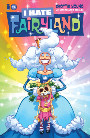 Cover for I Hate Fairyland #4 (2016)