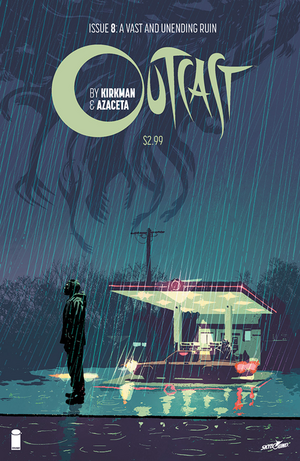 Cover for Outcast #8 (2015)