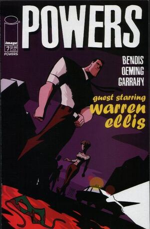 Cover for Powers #7 (2000)
