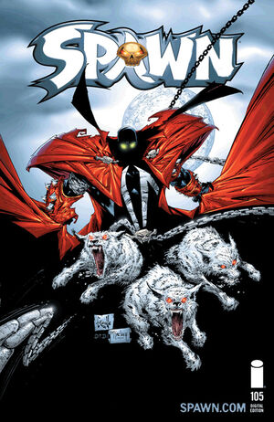 Cover for Spawn #105 (2001)