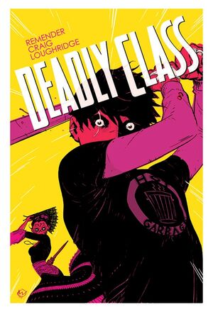 Cover for Deadly Class #11 (2015)