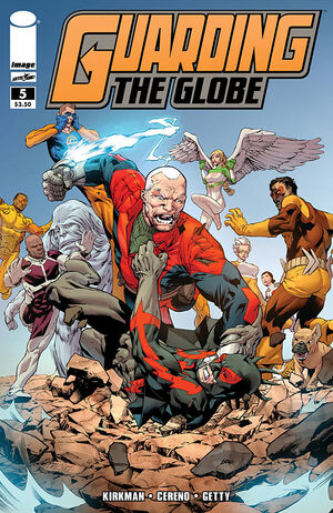 Cover for Guarding the Globe #5 (2011)