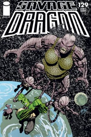 Cover for Savage Dragon #129 (2006)