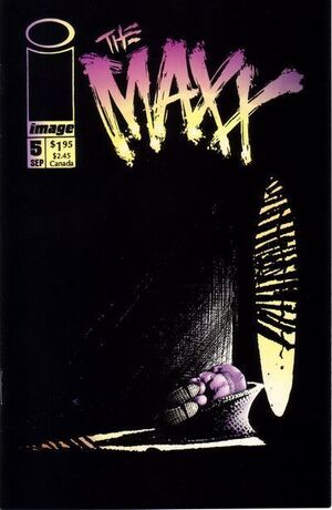 Cover for The Maxx #5 (1993)