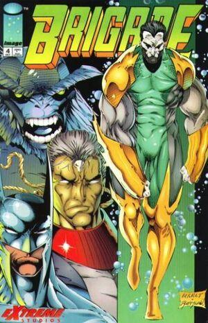 Cover for Brigade #4 (1993)