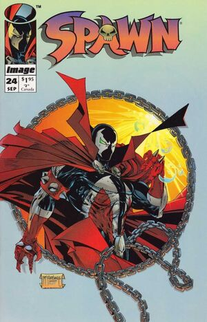 Cover for Spawn #24 (1994)
