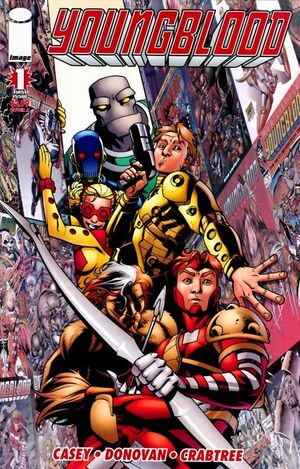 Cover for Youngblood #1 (2008)