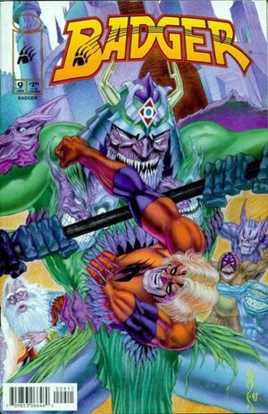 Cover for Badger #9 (1998)