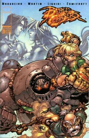 Cover for Battle Chasers #9 (2001)