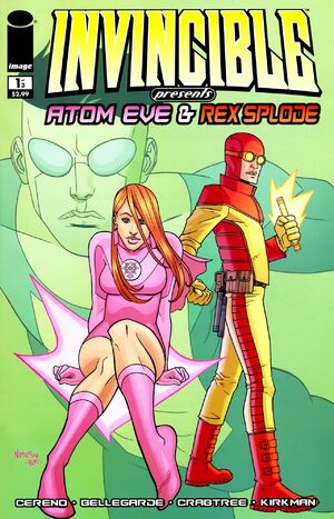 Cover for Invincible Presents: Atom Eve & Rex Splode #1 (2009)