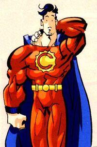 Captain Cosmic Invincible 001
