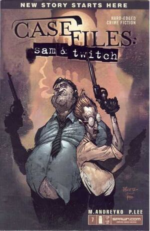 Cover for Case Files: Sam and Twitch #7 (2004)