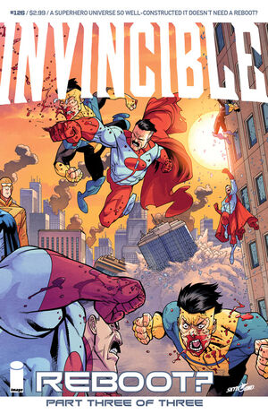 Cover for Invincible #126 (2015)