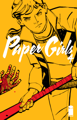 Cover for Paper Girls #4 (2016)