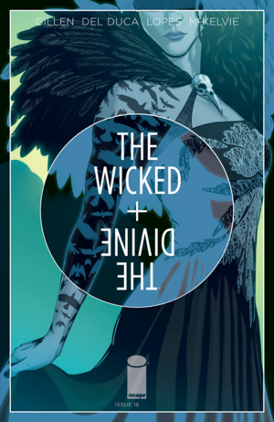 Cover for The Wicked + The Divine #16 (2015)