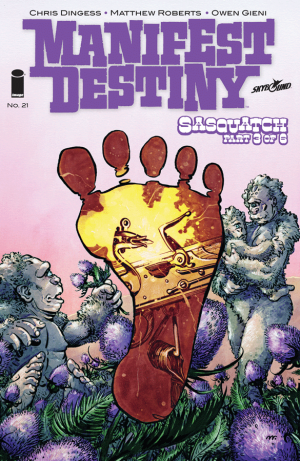 Cover for Manifest Destiny #21 (2016)