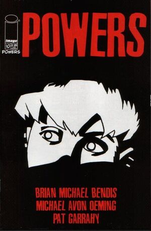 Cover for Powers #10 (2001)