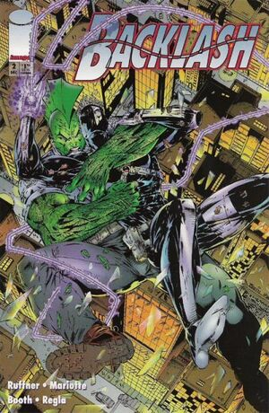 Cover for Backlash (1994)