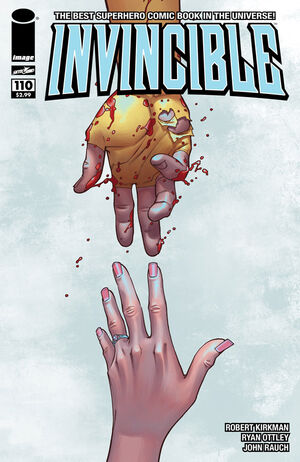 Cover for Invincible #110 (2014)