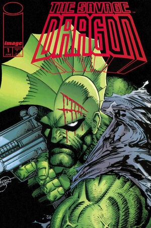 Cover for Savage Dragon #1 (1993)