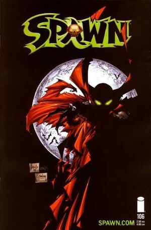 Cover for Spawn #106 (2001)
