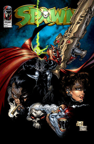 Cover for Spawn #61 (1997)