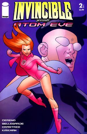 Cover for Invincible Presents: Atom Eve #2 (2008)