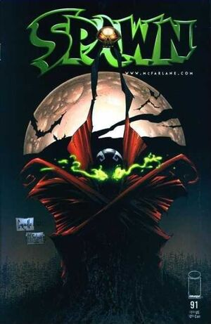 Cover for Spawn #91 (2000)