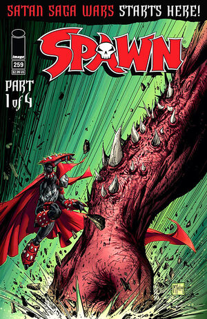 Cover for Spawn #259 (2015)