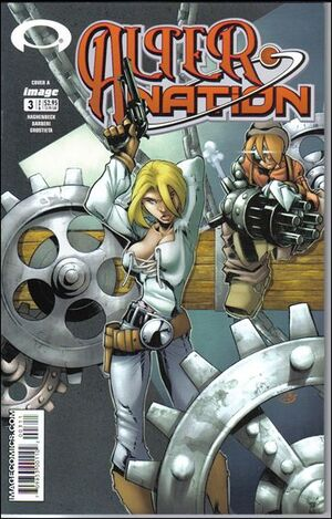 Cover for Alter Nation #3 (2004)