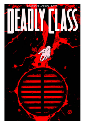 Cover for Deadly Class #21 (2016)