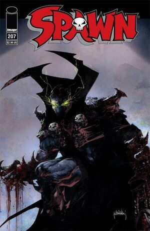 Cover for Spawn #207 (2011)