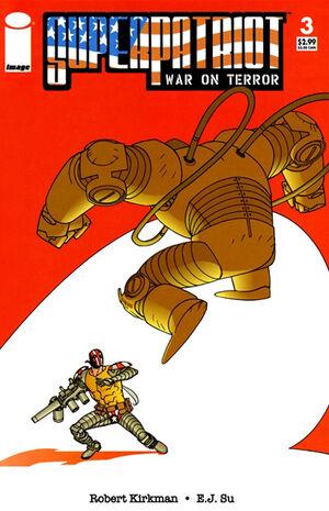 Cover for SuperPatriot: War on Terror #3 (2006)