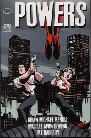 Cover for Powers #5 (2000)