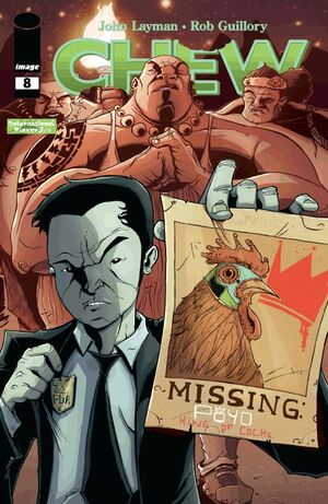 Cover for Chew #8 (2010)