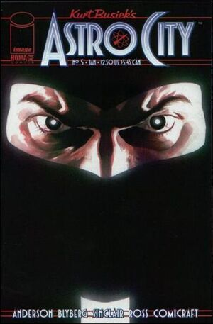 Cover for Astro City #5 (1997)