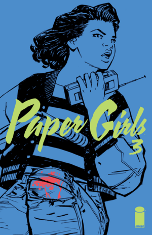 Cover for Paper Girls #3 (2015)