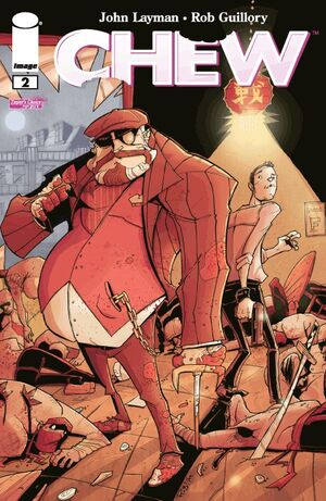 Cover for Chew #2 (2009)