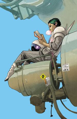 Cover for Saga #8 (2012)