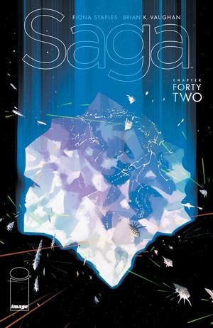 Cover for Saga #42 (2017)