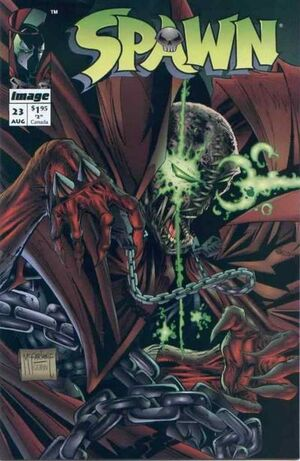 Cover for Spawn #23 (1994)