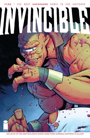Cover for Invincible #128 (2016)