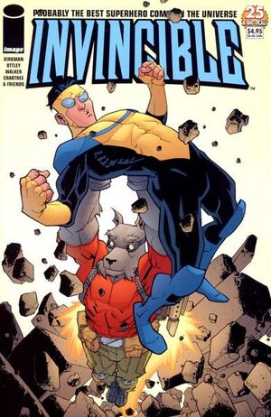 Cover for Invincible #25 (2005)