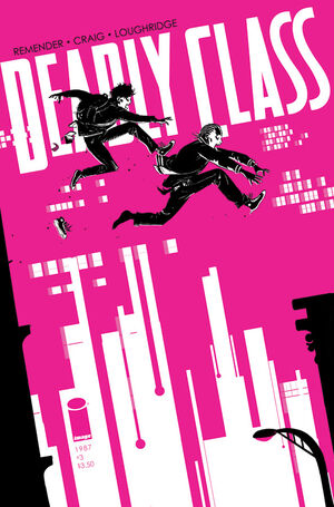 Cover for Deadly Class #3 (2014)