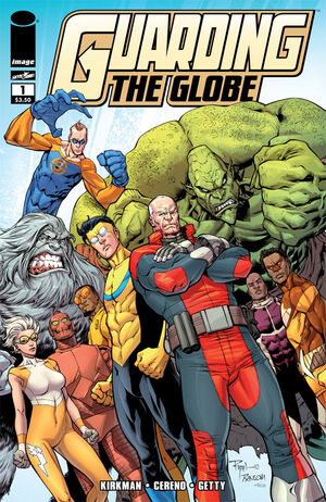 Cover for Guarding the Globe #1 (2010)