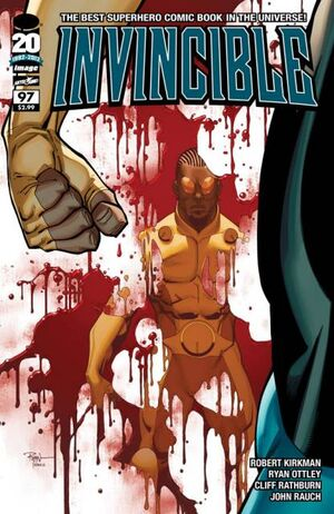 Cover for Invincible #97 (2012)