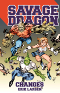 Savage Dragon Changes TPB